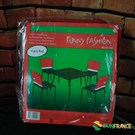 House de chaises Noël