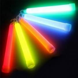Bâton lumineux multicolore de 15cm (5 pièces/lot)