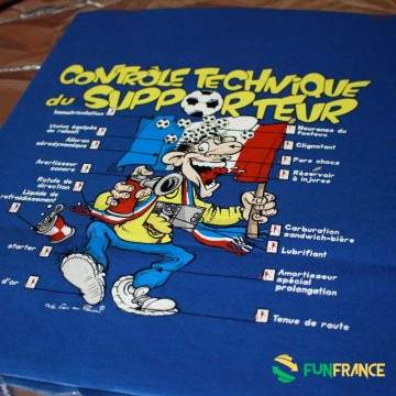 FUNFRANCE - E-Commerce Français : T-SHIRT contrôle Technique des Supporters - 11.783333€/ht - T-SHIRT contrôle Technique des Sup