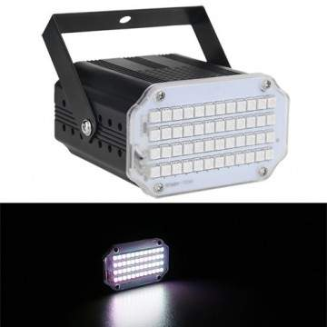 Stroboscope 48 LED RVB / UV / Blanc au choix