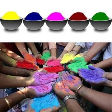 FUNFRANCE - E-Commerce Français : Poudre colorée pour Holi Party 100 g/sac - 4.56€/ht - Poudre colorée pour Holi Party 100 g/sac