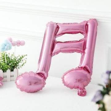 FUNFRANCE - E-Commerce Français : 5 x Ballons note et double note gonflables décoration - 2.62€/ht - 5 x Ballons note et double