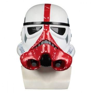 Casques Trooper en PVC dur