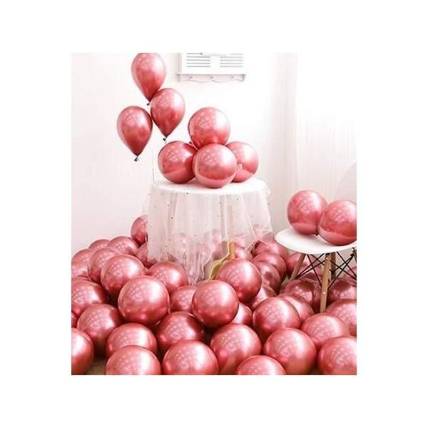 FUNFRANCE - E-Commerce Français : Lot de 50 ballons 25cm (Nombreuses couleurs) - 7.51€/ht - Lot de 50 ballons pour décoration de