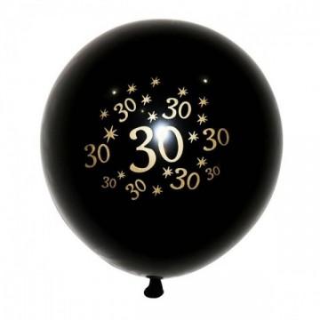 FUNFRANCE - E-Commerce Français : Lot de 5 ballons anniversaire 30 40 50 60 ans - 1.52€/ht - Lot de 5 ballons gonflables 30 40 5