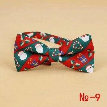FUNFRANCE - E-Commerce Français : Noeud papillon coton thème Noël - 1.52€/ht - Noeud papillon spécial Noël en coton. Mettez de l