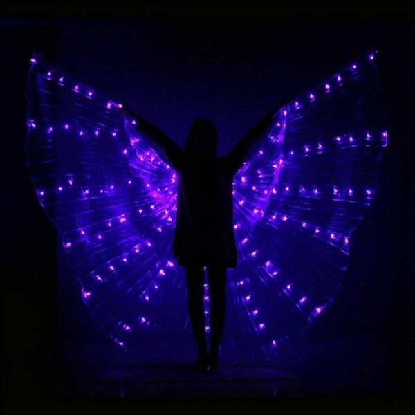 FUNFRANCE - E-Commerce Français : Costume papillon de spectacle à LED - 29.232€/ht - Magnifique déguisement à LED pour spectacle