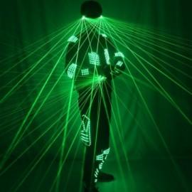 Robot laser 4 pièces Laser & LED pour spectacles