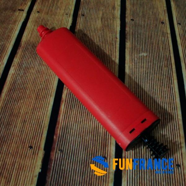 FUNFRANCE - E-Commerce Français : Pompe ballon manuelle 26cm - 2.333333€/ht - Pompe manuelle pour gonflage de ballons.