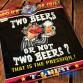 """FUNFRANCE - E-Commerce Français : T-shirt humour TWO BEER - 11.583333€/ht - T-shirt humour """"Two Beer"""" dans la collection mort de"""
