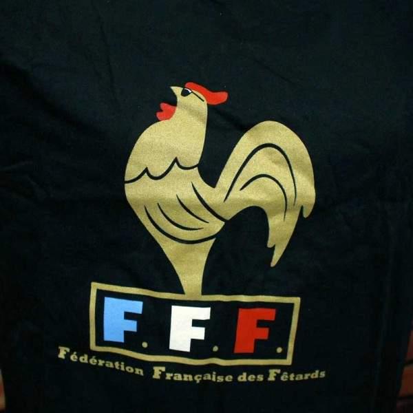 FUNFRANCE - E-Commerce Français : T-SHIRT FFF (Fédération Française des fêtards) - 13.45€/ht - T-Shirt FFF (Fédération Française