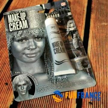 Maquillage peau hypoallergénique paillettes argenté 20ml