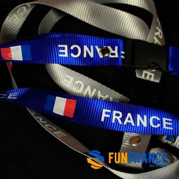 Tour de cou France (3 couleurs au choix)