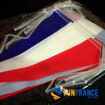Banderole de fanions France 10M x 27cm