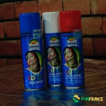 FUNFRANCE - E-Commerce Français : Bombe laque  à cheveux couleur 125ml - 1.658333€/ht - Bombe de 125ml de laque à cheveux couleu