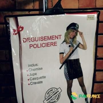 Déguisement costume Policière