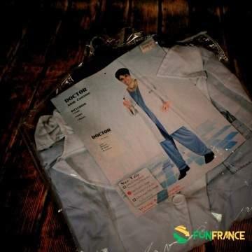 Déguisement costume docteur 3 pièces