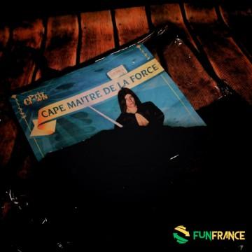 FUNFRANCE - E-Commerce Français : Déguisement costume Cape maitre de la force - 16.583333€/ht - Déguisement costume Cape maitre