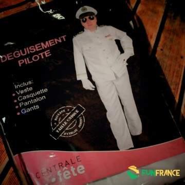 Déguisement costume PILOTE