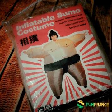 Déguisement costume SUMO gonflable