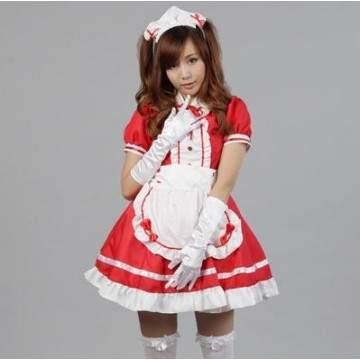 FUNFRANCE - E-Commerce Français : Femme de chambre Lolita robe Cosplay - 9.83€/ht - Robe femme de chambre sexy Colsplay pour fem