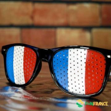 FUNFRANCE - E-Commerce Français : Lunettes supporter FRANCE - 1.8€/ht - Ces lunettes humoristiques en plastique possèdent une mo
