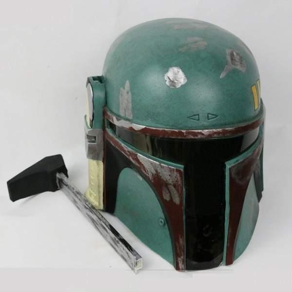 FUNFRANCE - E-Commerce Français : Masque de chasseur de primes des étoiles en PVC - 48.91€/ht - Le célèbre casque du chasseur de