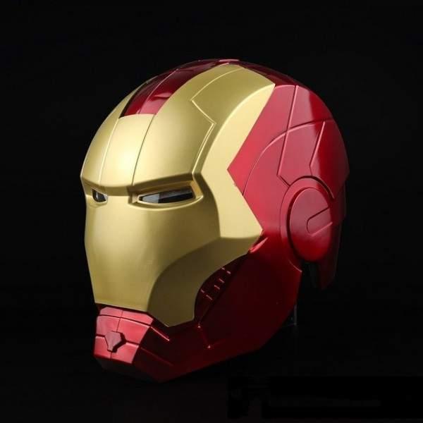 FUNFRANCE - E-Commerce Français : Super-héros Bluckbuster Tony Stark en PVC - 52.7€/ht - Masque super-héros Tony Stark en PVC. T