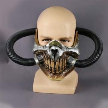 Masque film Mad Maxi squelette en PVC