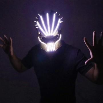 FUNFRANCE - E-Commerce Français : Masque à LED. 5 couleurs au choix. - 29.28€/ht - Superbe masque à LED pour toutes les occasion