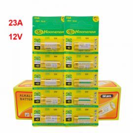 Piles alcaline 23A 12V Lot de 5 pièces A23 GP23A RV08 LRV08 E23A V23GA