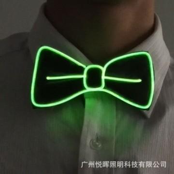 FUNFRANCE - E-Commerce Français : Cravate ou noeud papillon à bandeau led - 4.47€/ht - Cravate ou noeud papillon à ruban led eff