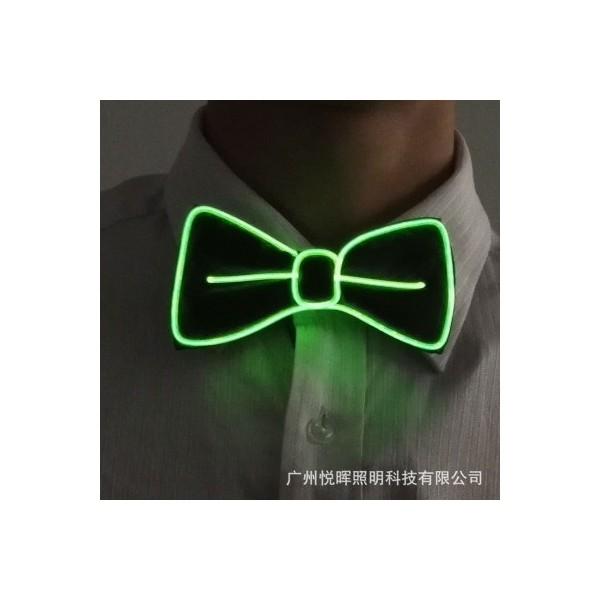 Cravate ou noeud papillon à bandeau led
