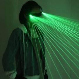 Lunettes laser autonomes (Vert / Rouge / Bleu)